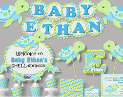 girl baby shower theme ideas turtle baby shower etsy