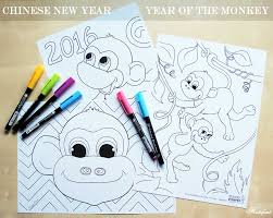 happy chinese new year year of the monkey hattifant
