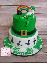 irish themed cake incredible cakes cake birthday