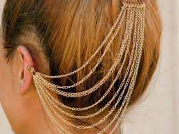 cuff earrings with chain best 25 chain earrings ideas on earrings with cuff and