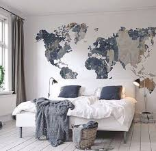 Designing A Wall Mural 25 Best World Map Wall Ideas On Pinterest Bedroom Wallpaper