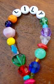 beaded name bracelets beaded name bracelets things to make and do crafts and