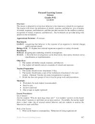 stimulus and response worksheet 2 with answers