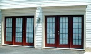 Garage Door Conversion To Patio Door Virginia Residential Garage Doors Interior And Exterior Door