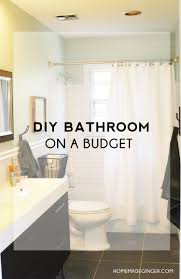 Decorating Ideas For Bathrooms On A Budget Dollar Tree Bathroom Organization Homemade Ginger