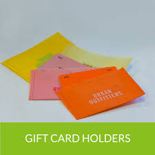 custom gift card holders custom gift card holders for business prime line