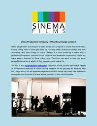 Nyc Production Companies Professional Commercial Production Companies In New York By Sinema