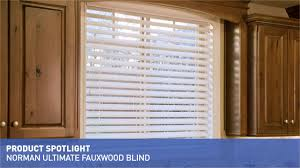 norman ultimate faux wood blinds with smartprivacy u0026raquo product