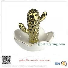 porcelain cactus ring holder images Cactus series by design home d cor jpg