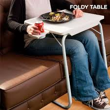 Table Cup Holder Foldy Table With Cup Holder Innova Goods