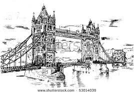 bridge sketch stock images royalty free images u0026 vectors