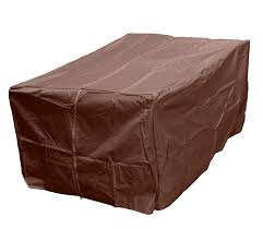 rectangle propane fire pit table hiland heavy duty waterproof rectangle propane fire pit cover