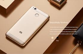 Redmi 4x Global Version Xiaomi Redmi 4x 3gb 32gb Smartphone Gold
