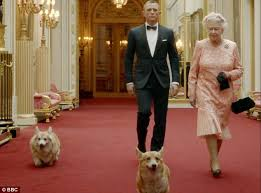 the queen u0027s pet corgi who starred in 007 olympic opening ceremony