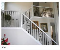 Banister Stair Best 25 White Banister Ideas On Pinterest Stair Decor Stair