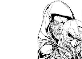 doom coloring pages