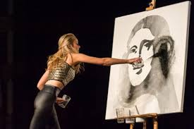 speed painting is the next hot pageant talent