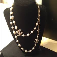 long pearl chain necklace images 57 chanel long necklace chanel pearl necklace pearl off pinterest jpg