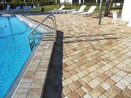 pool deck pavers concrete pavers miami at florida pavers com