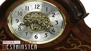 Howard Miller Chiming Mantel Clock Howard Miller Bradley Mantel Clock 630 260 Youtube