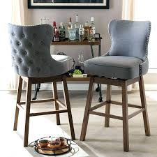 kitchen island with wheels painting bar stools ideas studio beige fabric upholstered stool with