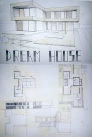 drawing of floor plan floor plan with perspective house internetunblock us