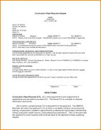 Examples Of Current Resumes by Examples Of A Job Resume Curriculum Vitae Medical Doctor Are