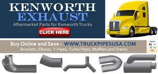 kenworth truck repair kenworth exhaust pipes 1 2 price oem aftermarket kenworth truck