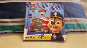paw patrol piccoli grandi eroi libro puzzle