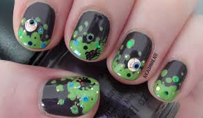 halloween witch u0027s brew easy nail art on short nails