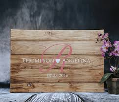 alternative guest book rustic wedding guest book alternative custom guest book