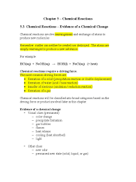 chem reactions notes redox chemical reactions