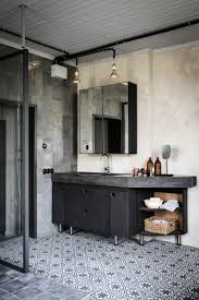 best ideas about charcoal bathroom pinterest white inside gray swedish home with raw edge industrial bathroombathroom inspirationbathroom ideasmen