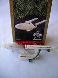 trek keepsake ornaments enterprise and shuttle by