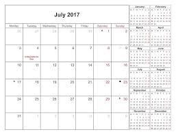Excel Monthly Calendar Template Excel Monthly Calendar September Calendar 2017 In Pdf Word