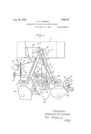 patent us1466367 apparatus for operating on molten glass