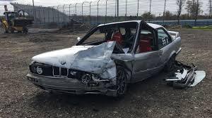 bmw e30 bmw driver survives nightmare crash when his e30 loses its brakes