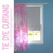 how to tie curtains tie dye curtains ilovetocreate