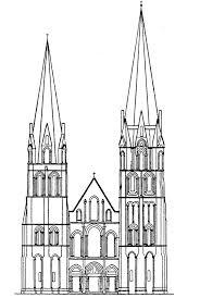 Gothic Architecture Floor Plan 3 3 1 2 2 The Latin Cross Type Quadralectic Architecture