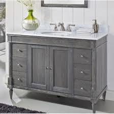 fairmont designs bathroom vanities rustic chic 48 traditional single sink vanity silvered oak by