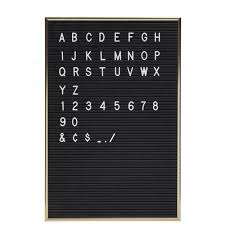 ustensile de cuisine en m en 6 lettres tableau noir lettres et chiffres amovibles the conran shop