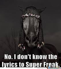 Rick James Memes - sarah jessica parker got a new rick james haircut by