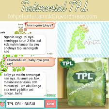 Teh Tpl new tpl original distributor resmi utama tangan pertama teh