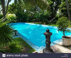 Hemingway House Key West Ernest Hemingway House In Key West The Swimming Pool Stock Photo