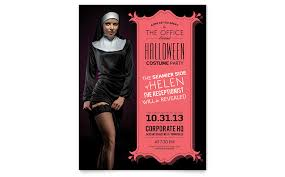 halloween costume party flyer template word u0026 publisher