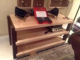 Wood Audio Rack Custom Furniture Hi End Audio Racks And Isolation Platforms At