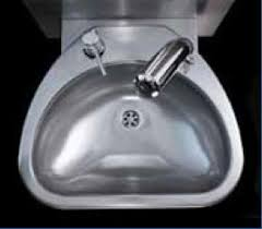 stainless steel hand sink stainless steel hand sink electronic clinium 460x436x h 270 mm