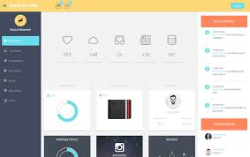 100 best free bootstrap admin templates css author