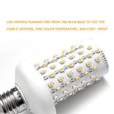 led flame effect fire light bulbs new e27 3528 smd led flame effect fire light bulbs flickering