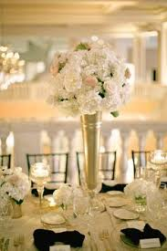 Carnation Flower Ball Centerpiece by Gorgeous White Carnation Ball And Crystal Centerpieces Place The